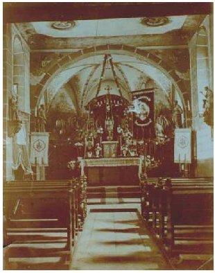 Nepomukkapelle Innenansicht