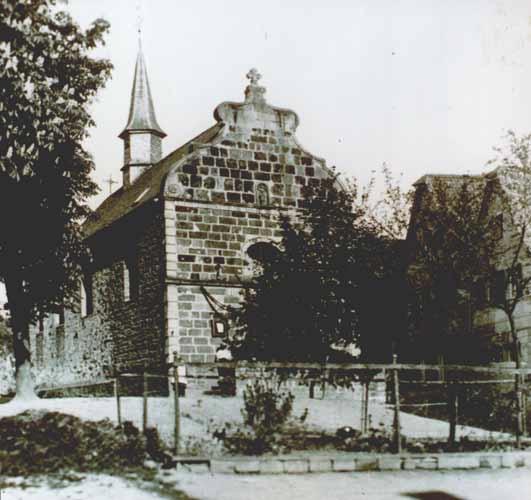 Nepomukkapelle von der Hennefer Seite her gesehen