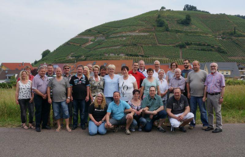 2015 KG Tour Schwarzwald Gruppenfoto