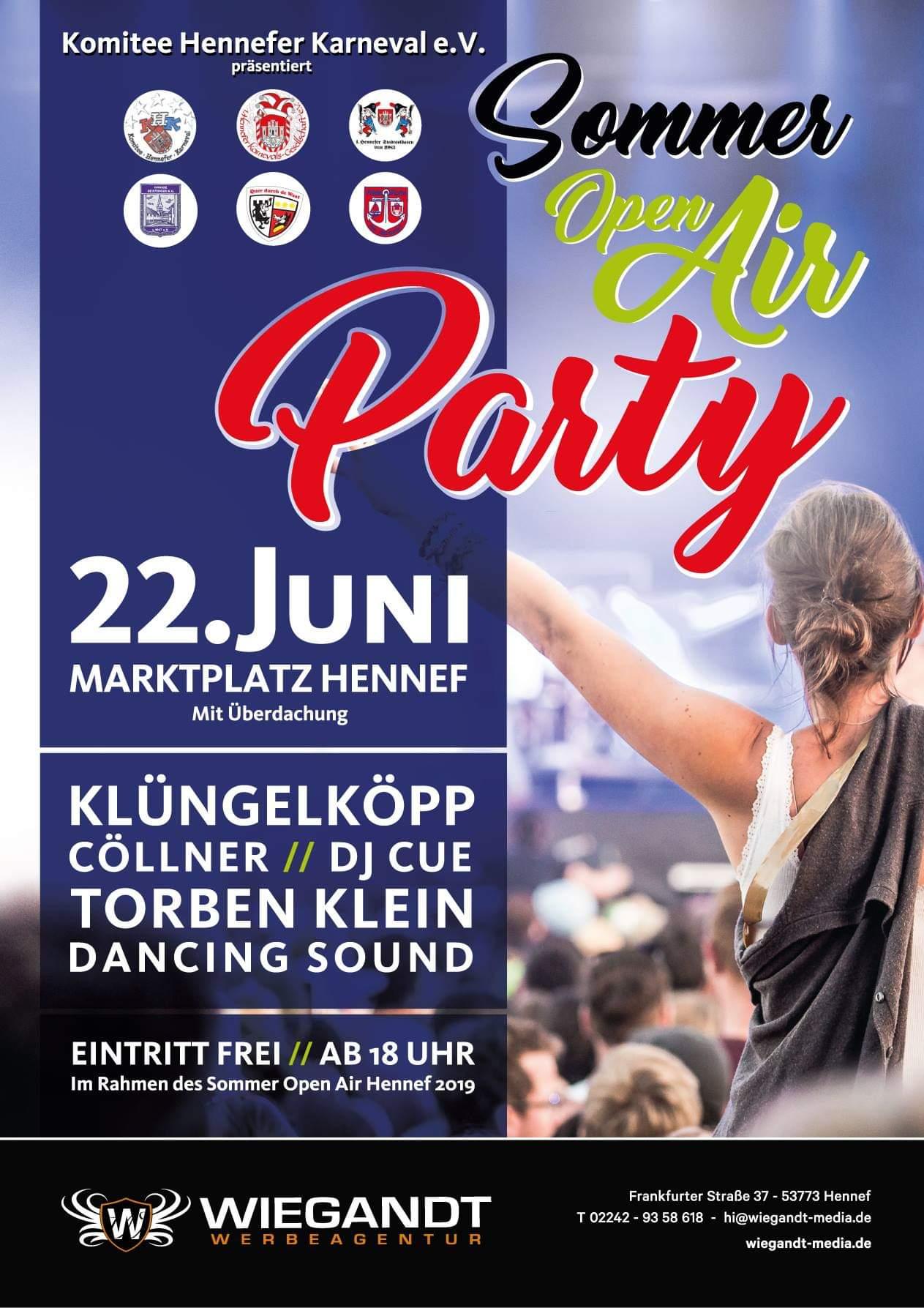 SommerOpenAir @ Marktplatz Hennef | Hennef (Sieg) | Nordrhein-Westfalen | Deutschland